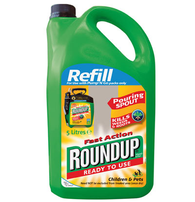 Roundup Ready Corn. Partial bag of growers choosing roundup , genetically